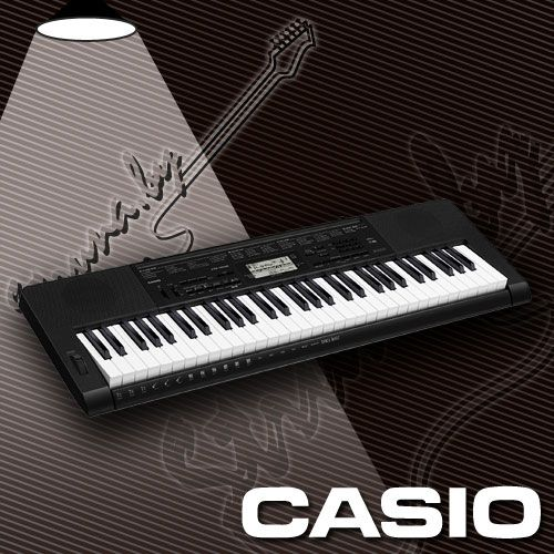 Синтезатор CASIO CTK3500 (61 клавиша)