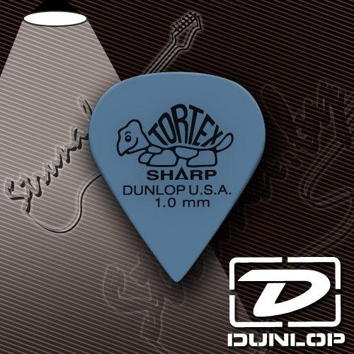 Медиатор Dunlop 4121 Tortex Sharp Cabinet