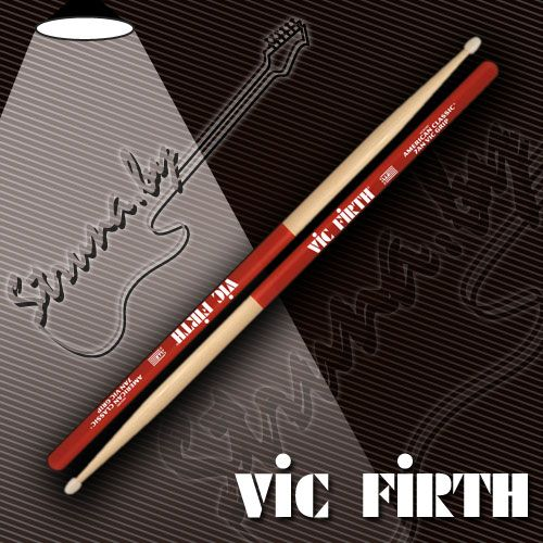 Барабанные палочки Vic Firth 7ANVG American Classic Vic Grip Nylon