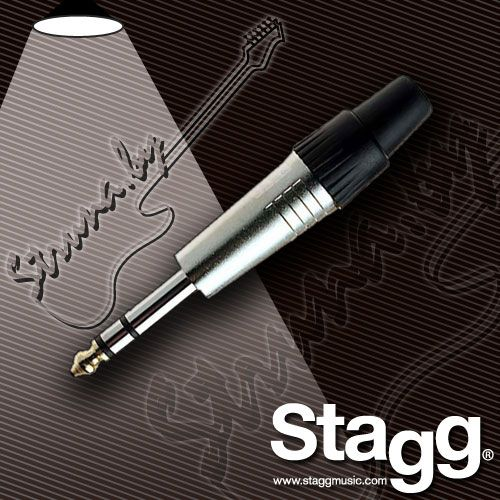 Разъем Jack (stereo) Stagg 020STH