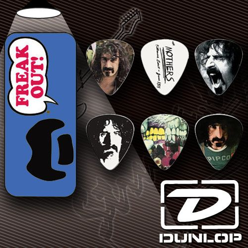 Медиатор Dunlop ZAPPT02M Frank Zappa Medium Blue Pick Tin (6 шт. в кейсе)