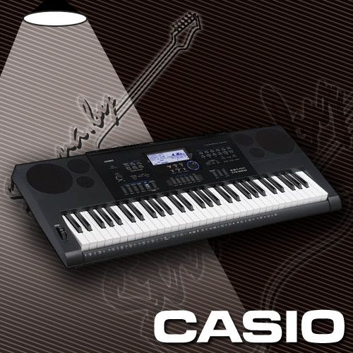 Синтезатор CASIO CTK6200 (61 клавиша)