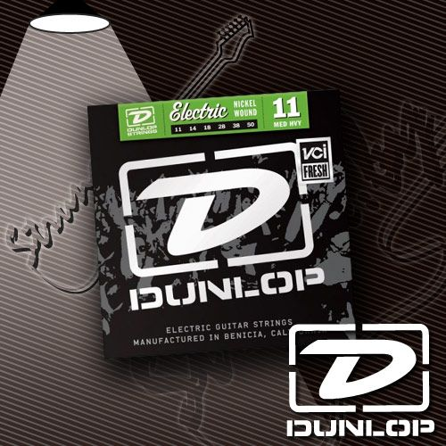 Струны для электрогитары Dunlop DEN1150 Nickel Wound 11-50